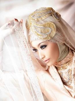 Novi Arimuko Hijab Bridal 2